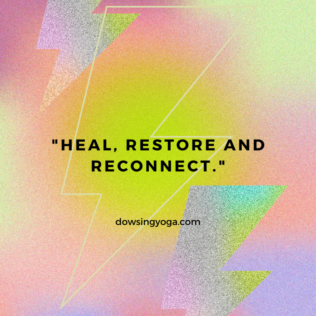 """""""Heal, Restore and Reconnect"""""""